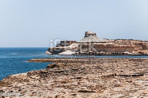 istock Salt pans near Qbajjar in Gozo, Malta. 1018401008