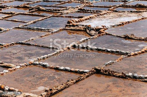 istock Salt pans near Qbajjar in Gozo, Malta. 1018401026