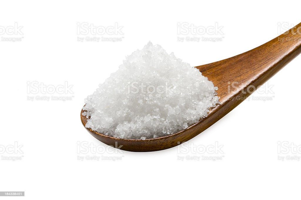 Salt royalty-free stock photo