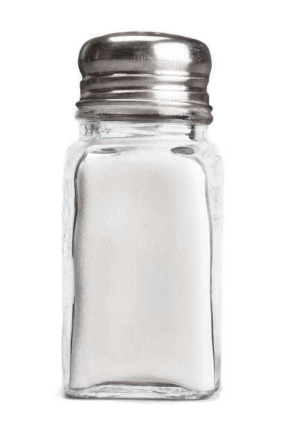 salt shaker. - salt foto e immagini stock
