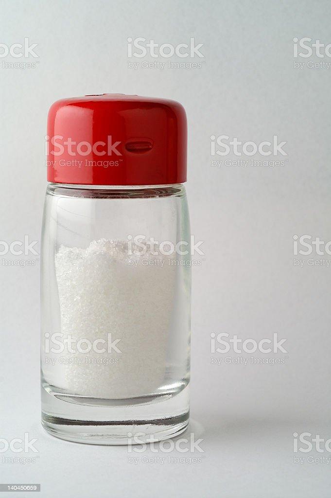 Salt shaker vertical royalty-free stock photo