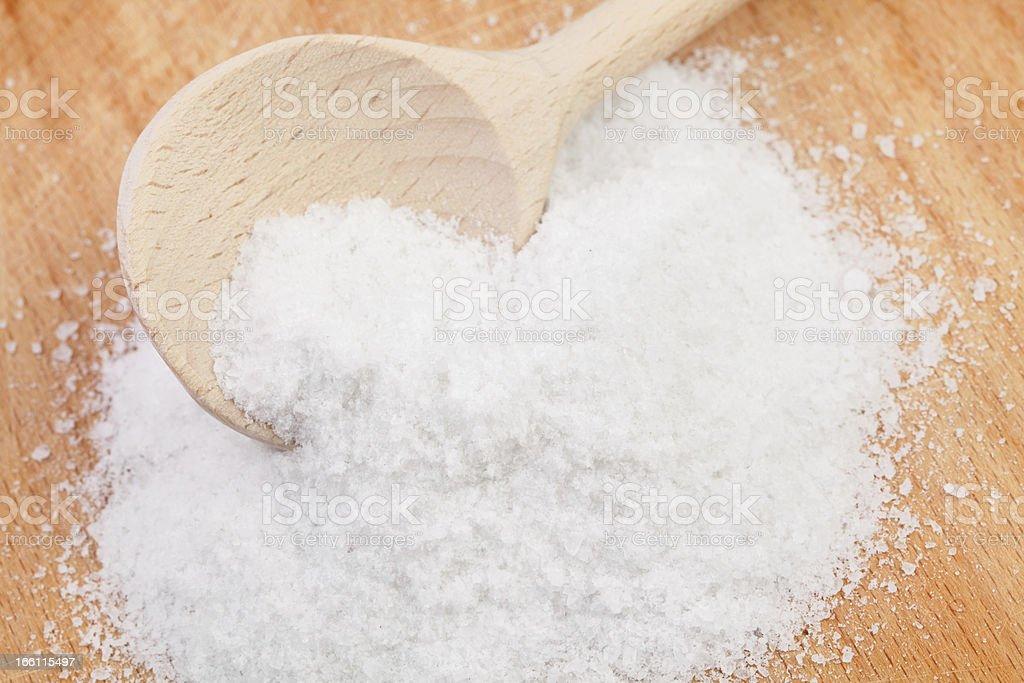 salt spoon royalty-free stock photo