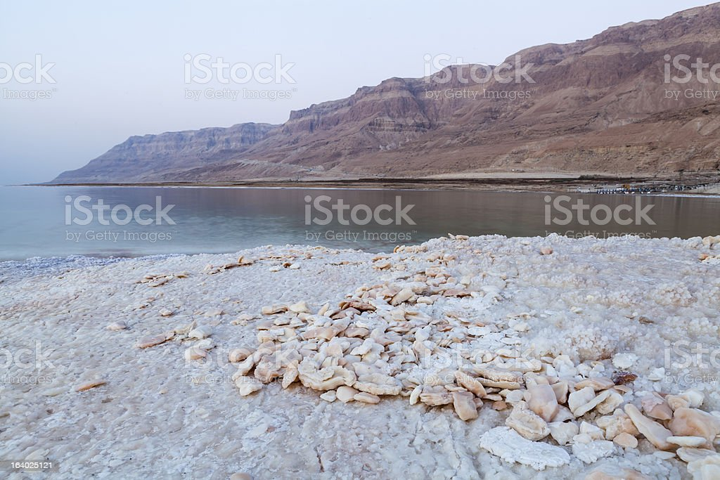 Salt Stones royalty-free stock photo