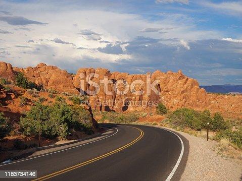 Salt Valley, Arches National Park, Utah, USA