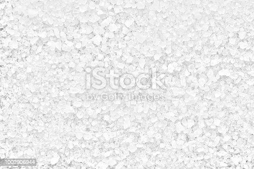 salt white sea, full depth of field
