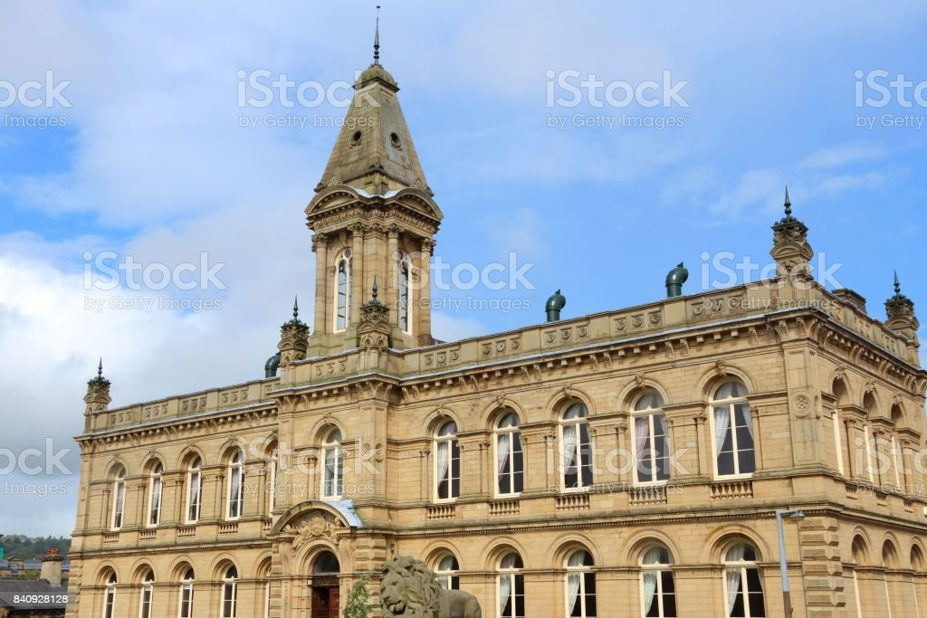 Saltaire stock photo