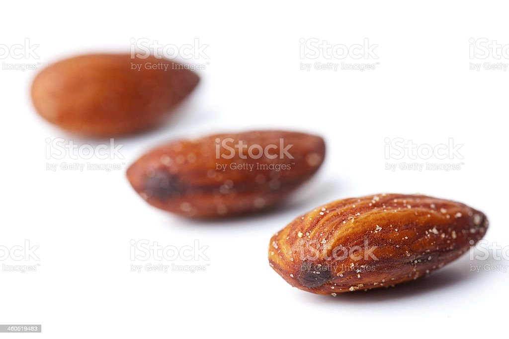 Salted Almonds royalty-free stock photo