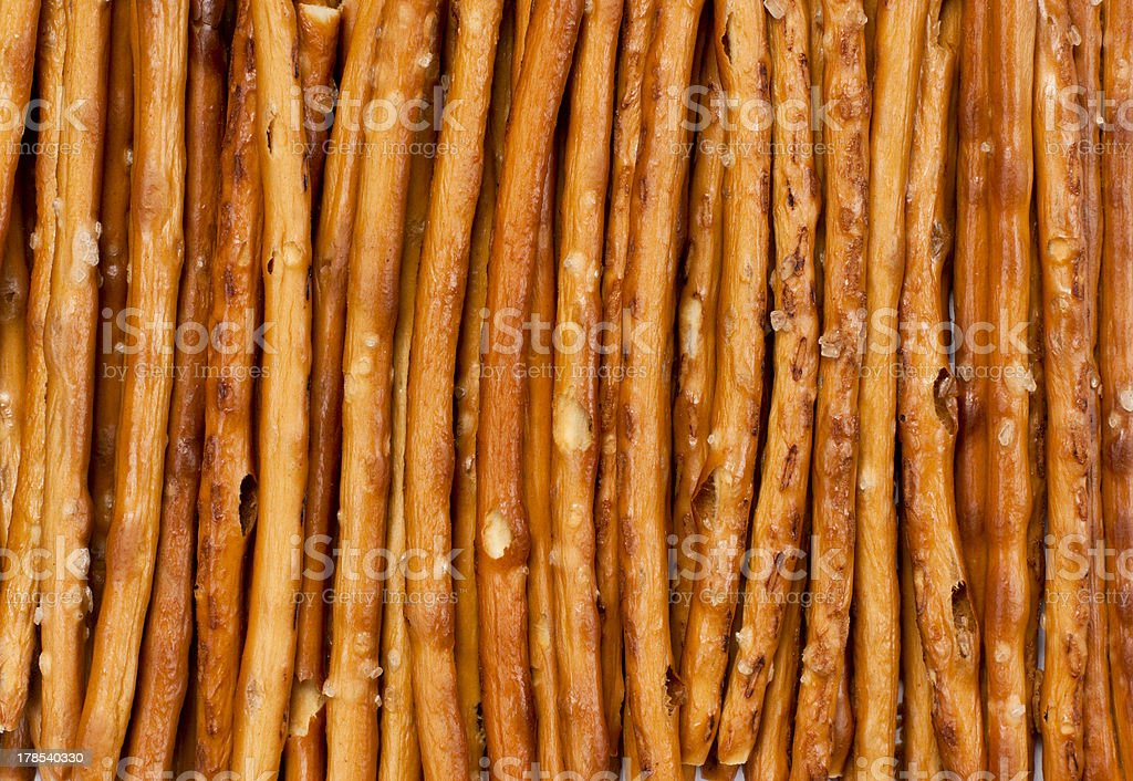 salted breadsticks royalty-free stock photo