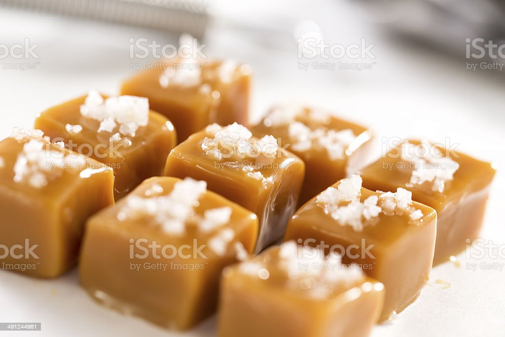 Salted Caramel stock photo