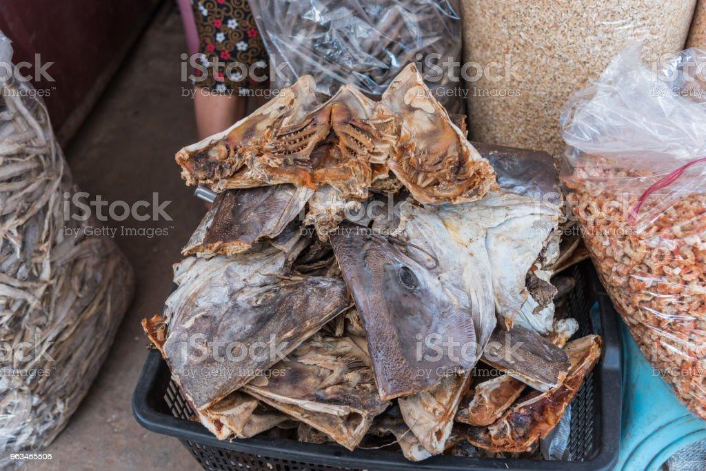 Satılık Market tuzlu balık (kurutulmuş balık) - Royalty-free Asya Stok görsel