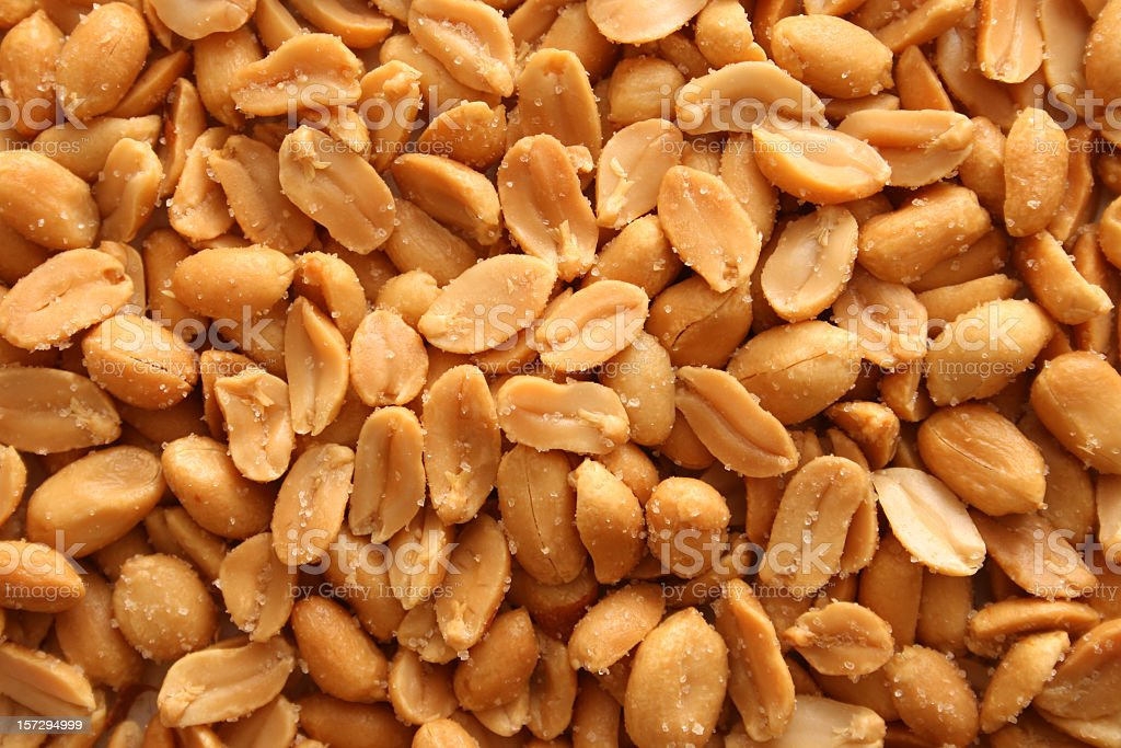 Salted peanuts background royalty-free stock photo