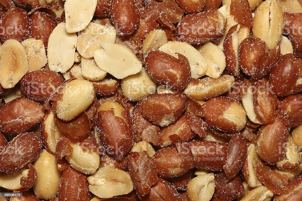 Salted peanuts royalty-free stock photo