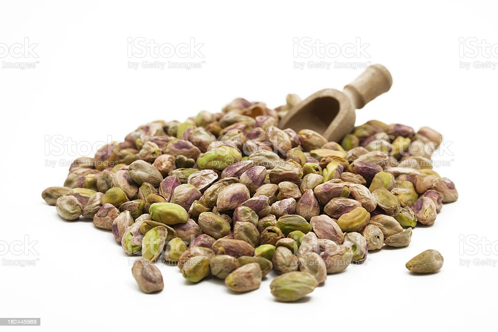 salted pistachios royalty-free stock photo