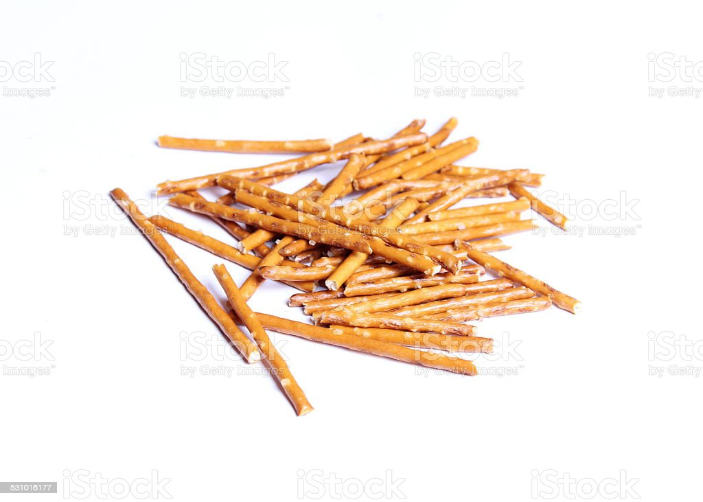 Salted sticks stock photo