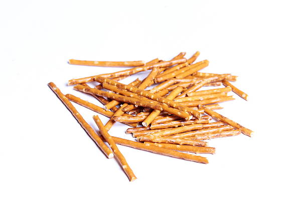 Salted sticks stock photo