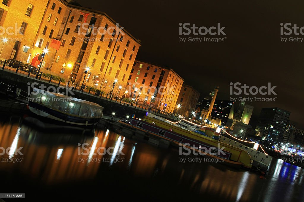 Salthouse Dock Abstract stock photo