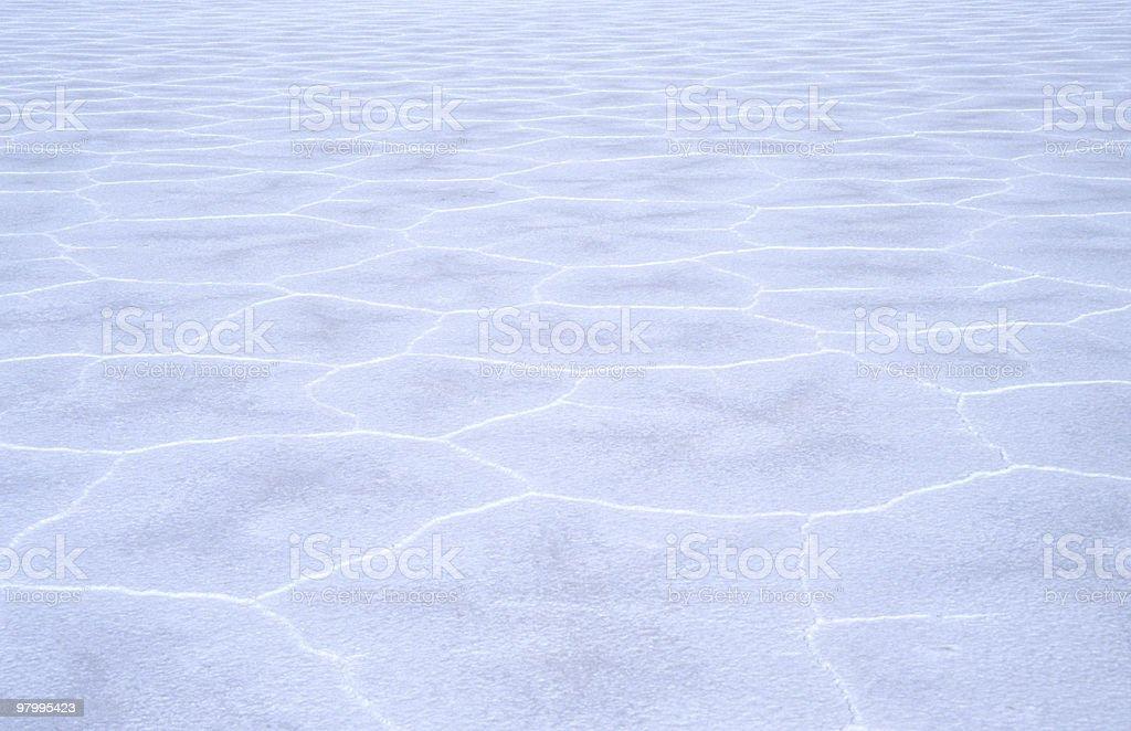 Saltlake 'salar de Uyuni' , Bolivia royalty free stockfoto