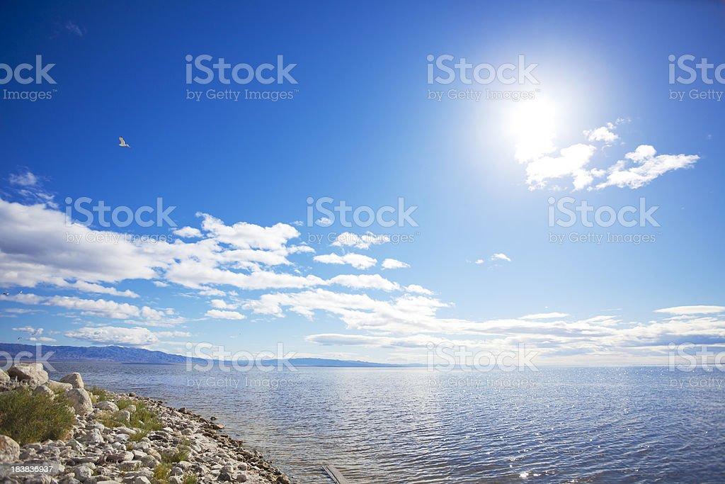 Salton Sea - California stock photo