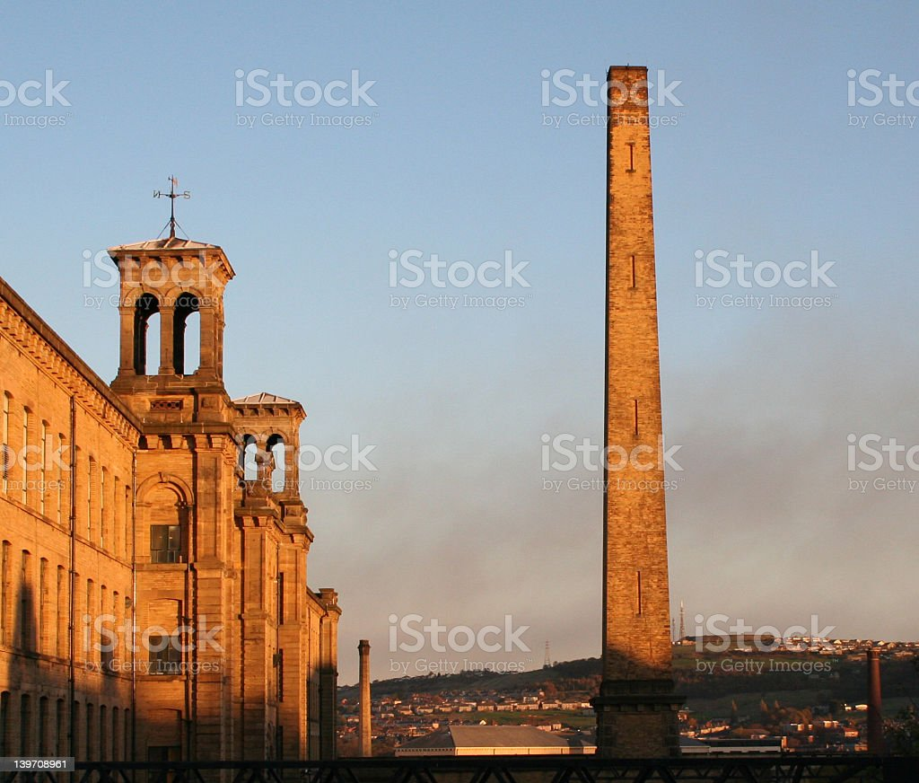 Salts Mill in Saltaire, Yorkshire royalty-free stock photo