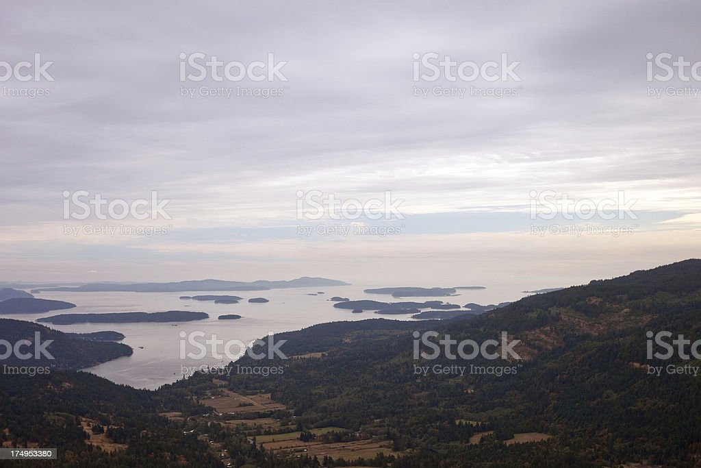 Saltspring Island stock photo