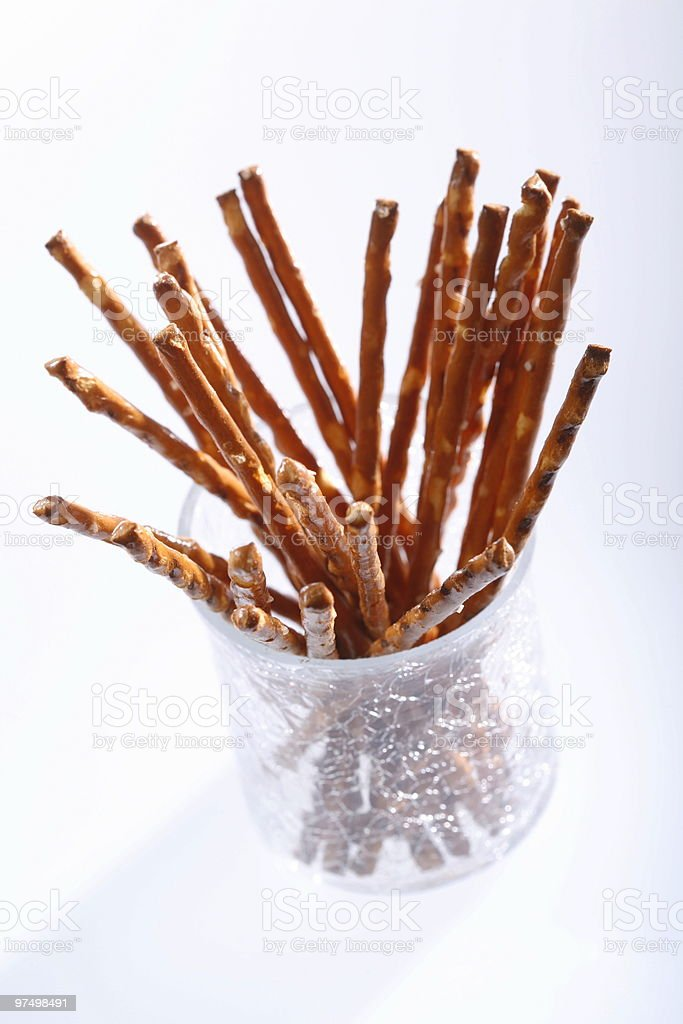 Saltsticks royalty-free stock photo