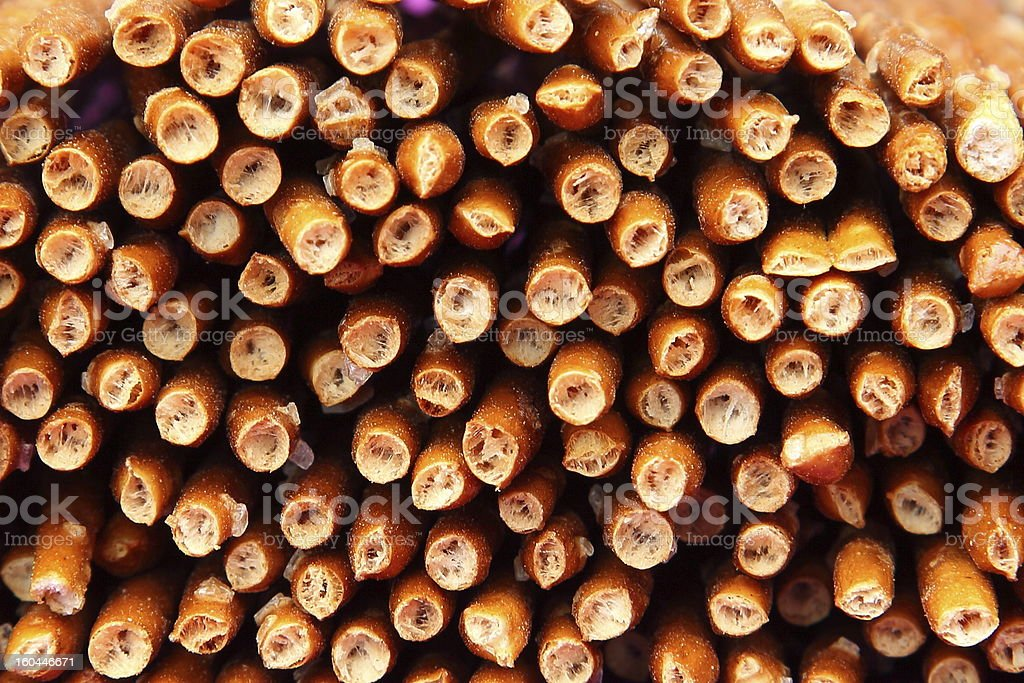 Saltsticks - Pretzel sticks stock photo