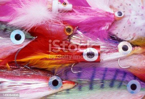 istock Saltwater Fishing Flies 149064835