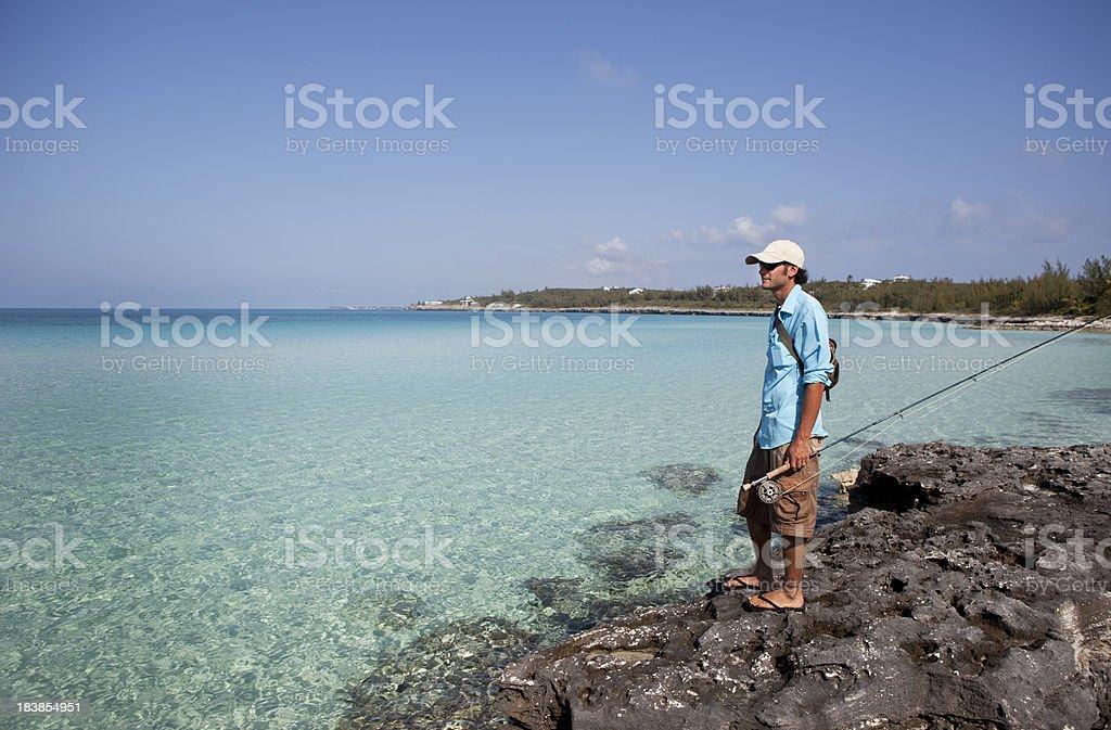 Saltwater Fishing stock photo