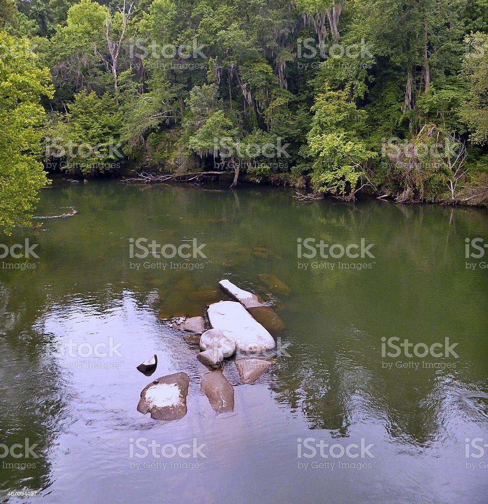 Saluda River stock photo