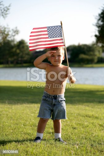 istock Salute to America 95505845