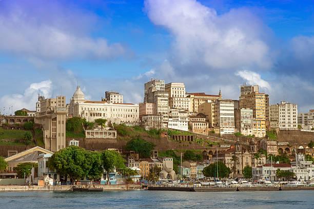 Salvador, Bahia ́s capital stock photo