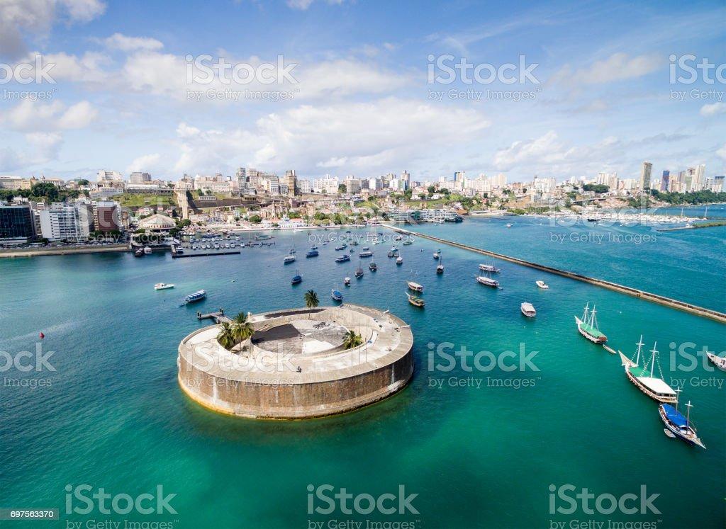 Baía de Salvador, Bahia, Brasil - foto de acervo
