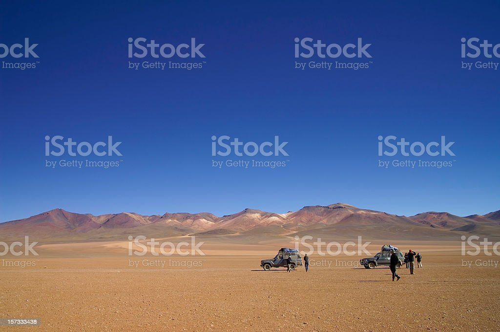 Salvador Dali Desert royalty-free stock photo