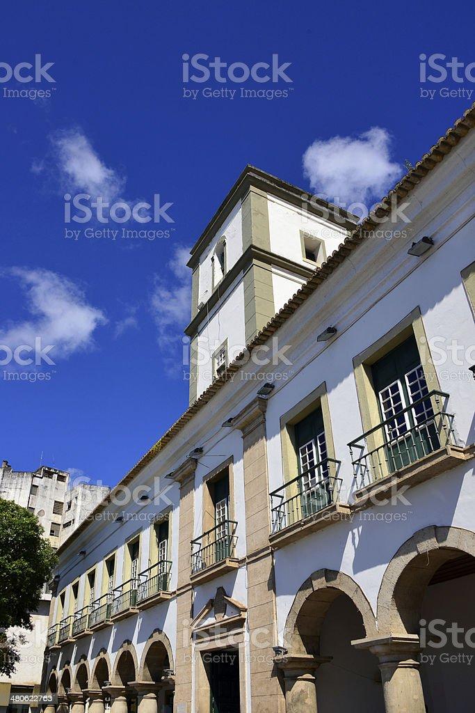 Salvador Municipal chamber, Brazil stock photo