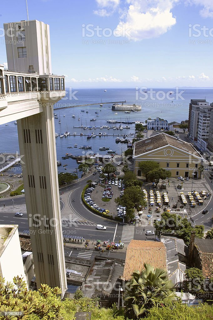 Salvador de Bahia royalty-free stock photo