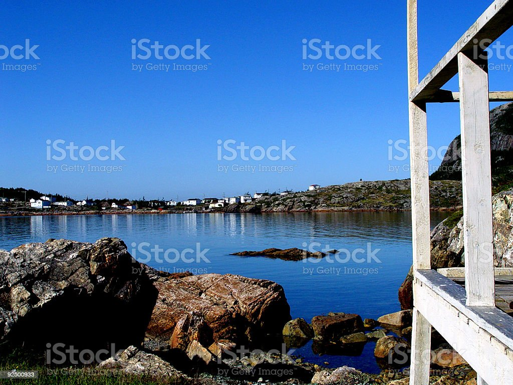 Salvage View With Deck royalty-free stock photo