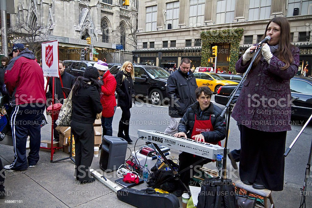 Salvation Army Nyc 2 Xxl Stock Photo More Pictures Of Adult Istock