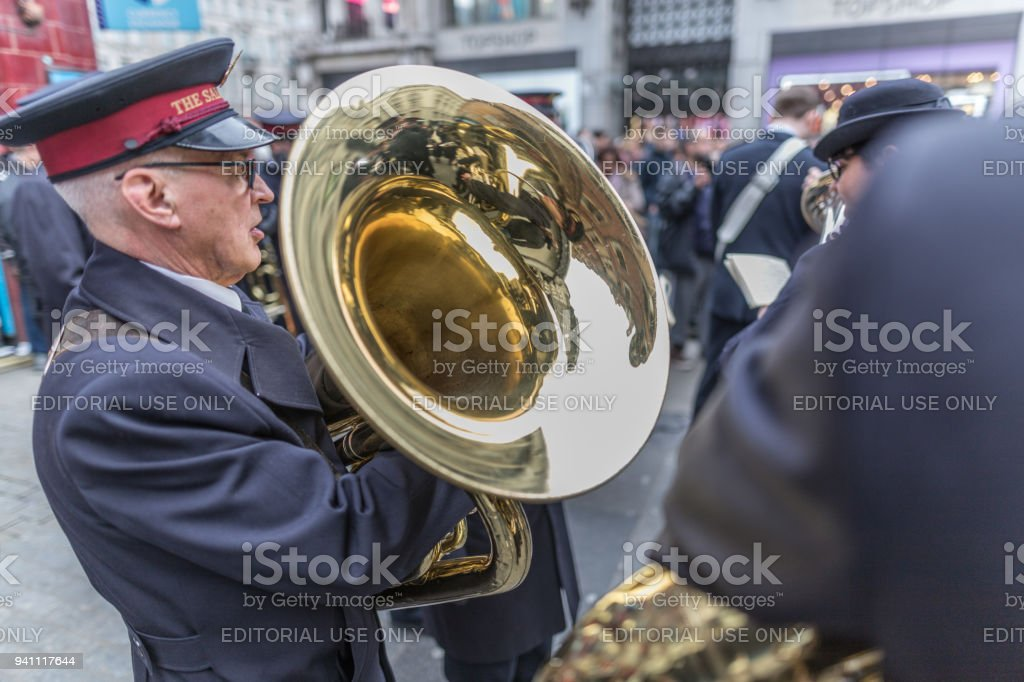 Salvation Army Parade Stock Photo More Pictures Of Brass