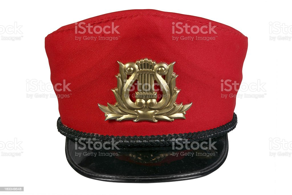 Salvation Army Style Hat stock photo