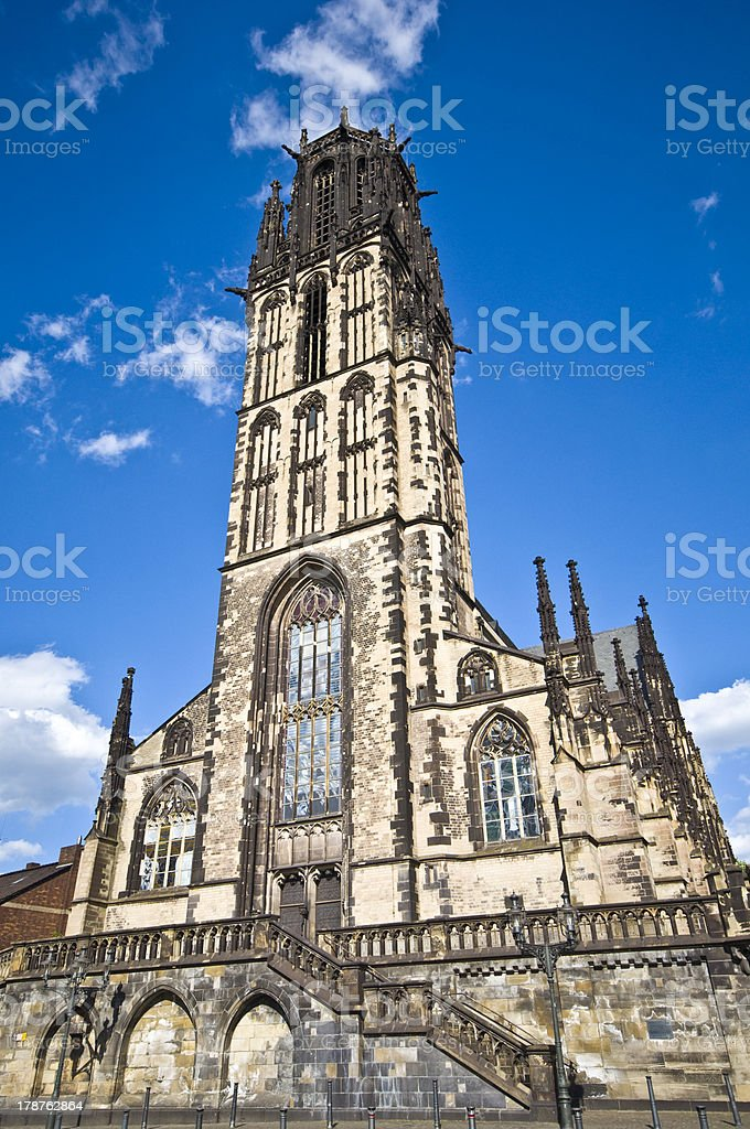 Salvator church stock photo