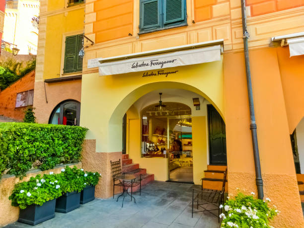 Salvatore Ferragamo Store in Portofino, Italien am 13. September 2019. – Foto