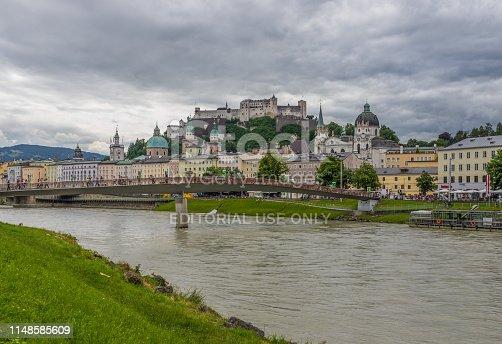 istock Salzburg, a Unesco World Heritage site 1148585609