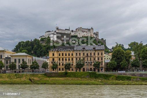 istock Salzburg, a Unesco World Heritage site 1148585617