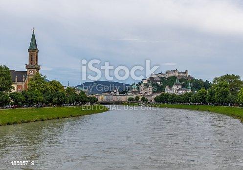 istock Salzburg, a Unesco World Heritage site 1148585719