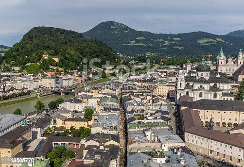istock Salzburg, a Unesco World Heritage site 1148585770