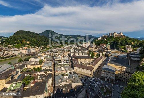istock Salzburg, a Unesco World Heritage site 1148585797