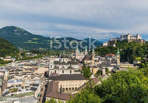 istock Salzburg, a Unesco World Heritage site 1148585821