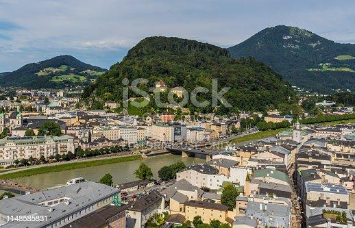 istock Salzburg, a Unesco World Heritage site 1148585831