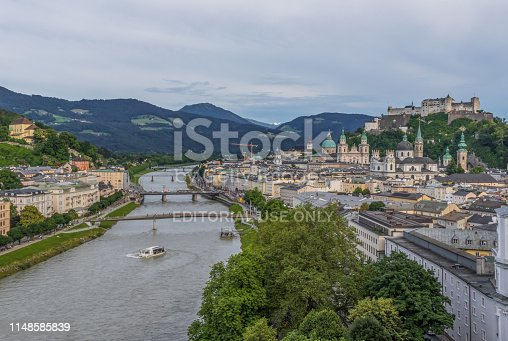 istock Salzburg, a Unesco World Heritage site 1148585839