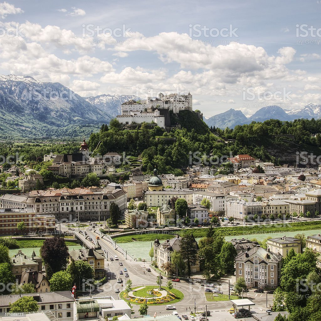 Salzburg Austria royalty-free stock photo